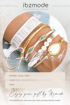 Kadobon v.a. €25,- t/m €250,- Ibzmode Jewelry