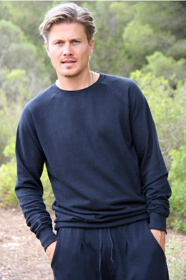 Heren Sweater Antoni Zwart