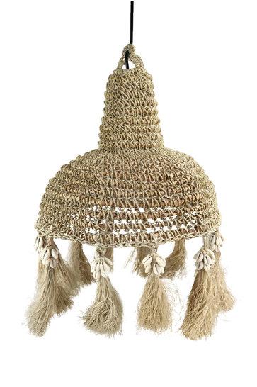 Lámpara Palm grass Shell Natural