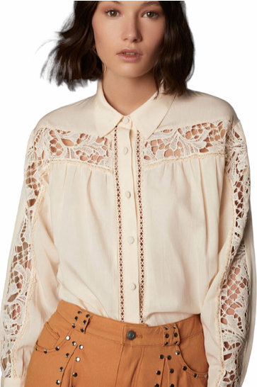 Blouse Guipur Ivory