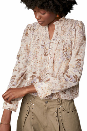 Blouse Smock Nude