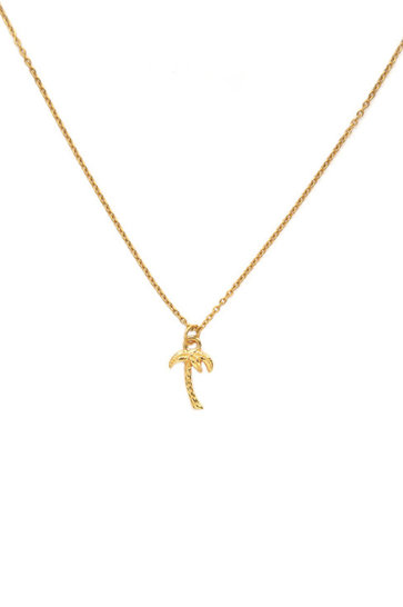 Necklace Palm Tree Gold