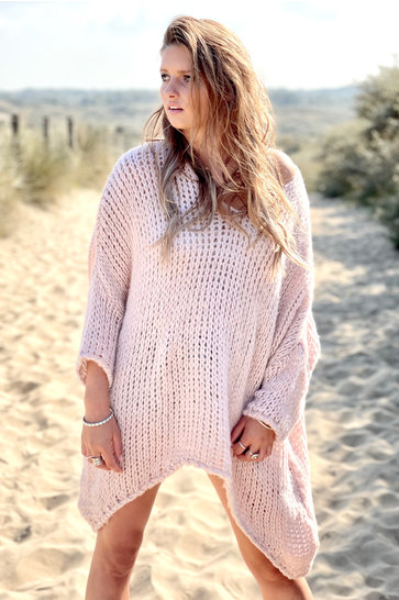 Sweater Knitted Powder Pink