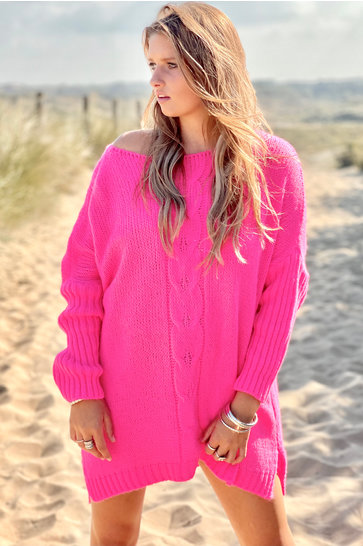 Sweater Cable Pink