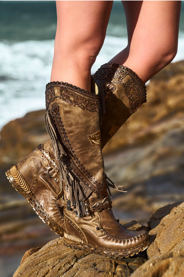 Boots Judit Dakar Army Green