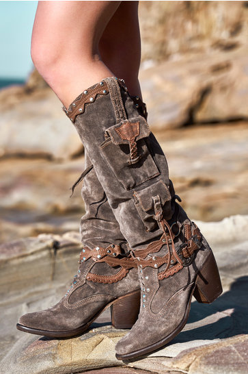Boots Keana Silverstone Anthracite