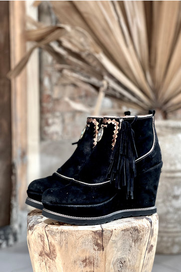 Ankle boots Wedge Florida Black