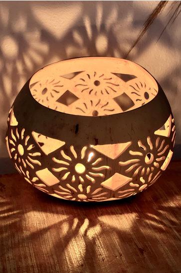 Atmospheric light holder Mula Sun Ecru