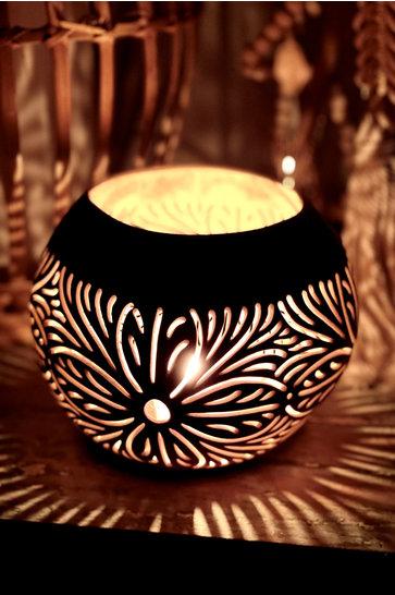 Atmospheric light holder Mula Sari Black