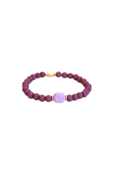 Bracelet Buddha Purple