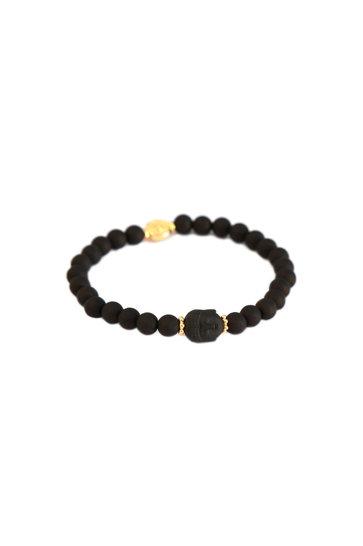 Armband Buddha Zwart
