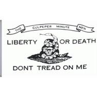 Vlag USA Dont Tread On Me Gadsen vlag