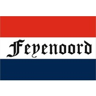 Vlag Nederland Feyenoord supporters vlag