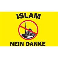 Vlag Islam Nein Danke vlag