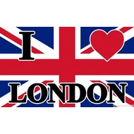 Vlag I Love London vlag