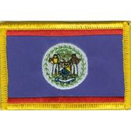 Patch Belize Beliziaanse vlag patch
