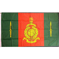 Vlag Commando Training Centre Royal Marines vlag