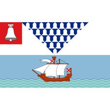 Vlag Belfast City vlag