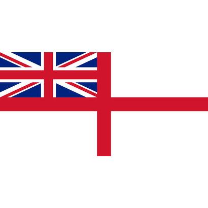 Vlag Britse oorlogsvlag ter zee vlag