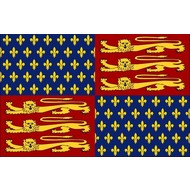 Vlag Royal Banner of King Henry IV-1406–1603