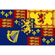 Vlag Royal Standard of King William III and II 1689–1702