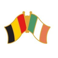 Speldje Belgium Ireland Friendship Pin