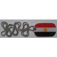 Dog Tag Egypte vlag Dog Tag