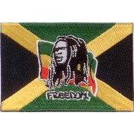 Patch Bob Marley Freedom vlag patch