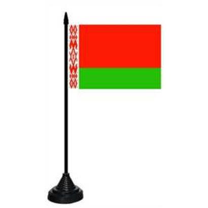 Tafelvlag Belarus Wit Rusland tafelvlag