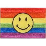 Patch Regenboog vlag patch Smiley