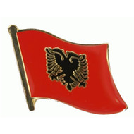 Speldje Albania flag lapel pin