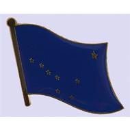 Speldje Alaska State flag lapel pin