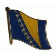 Speldje Bosnia Herzegovina flag lapel pin