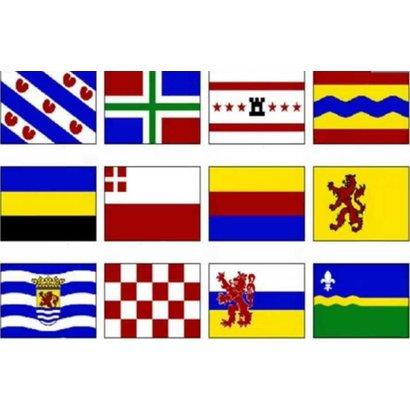 Vlag Set 12 Provincievlaggen Nederland