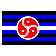 Vlag BDSM Pride vlag