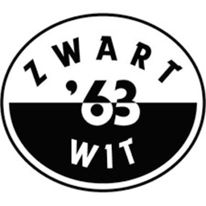 Bootvlag Zwart Wit 63 Boat Flag