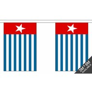 Vlaggenketting West Papua flag Bunting 3m