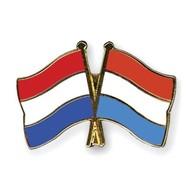 Speldje Nederland Luxembourg vlag Vriendschapsspeldje