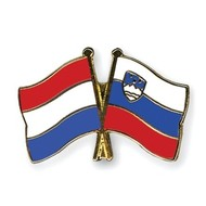 Speldje Nederland Slovenie vlag Vriendschapsspeldje