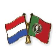 Speldje Nederland Portugal vlag Vriendschapsspeldje