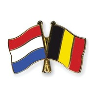 Speldje Nederland Belgie vlag Vriendschapsspeldje