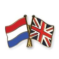 Speldje Nederland UK Engeland vlag Vriendschapsspeldje
