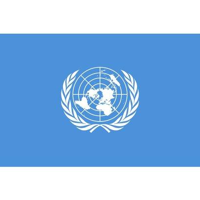 Bootvlag Verenigde Naties United Nations vlag