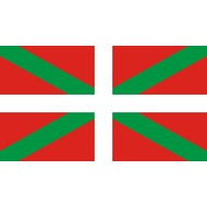 Bootvlag Basque boat flag