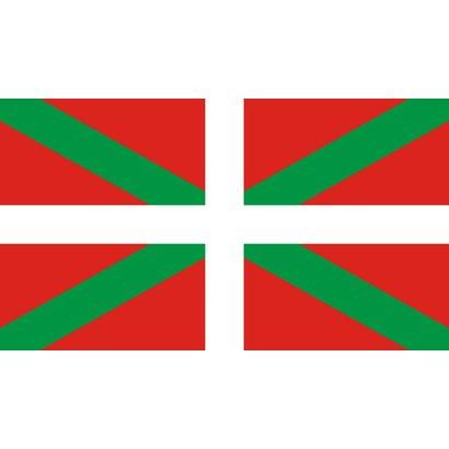 Bootvlag Baskenland Baskische boot vlag