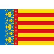 Bootvlag Valencia Valencian Community boat flag