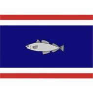 Bootvlag Urk Gemeente Boat flag