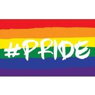 Vlag Hashtag Pride vlag