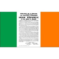 Vlag Irish Republic Easter Rising Proclamation vlag