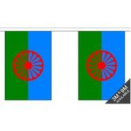 Vlaggenketting Gypsy Romany flag chain bunting
